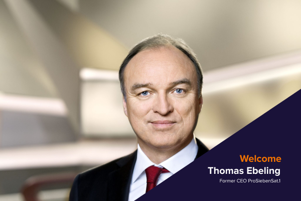 Coherra continue to add strength to the organization and cap table with the appointment of Thomas Ebeling as a new member of the Advisory Board